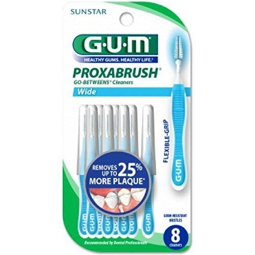 GUM Go-Betweens Proxabrush Cleaners Wide [3614] 8 ea
