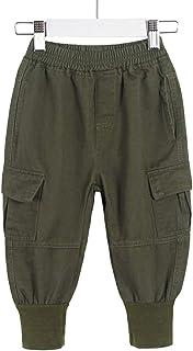 HOSD Ropa para niños Ropa para niños Pantalones Casuales para niños 2019 Primavera y otoño nuevos Pantalones Casuales de a...