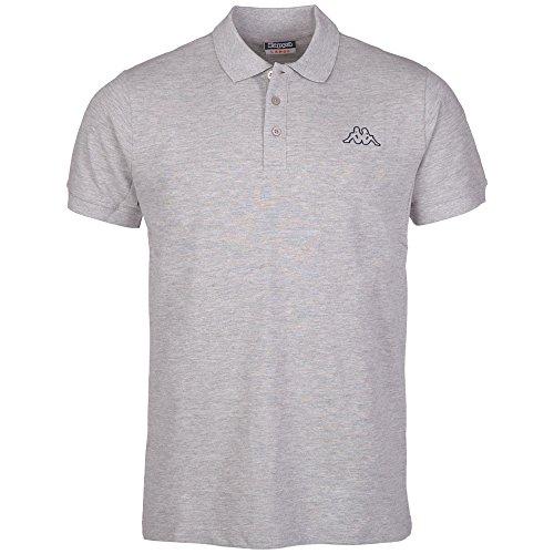 Kappa Polo Peleot Shirt, 19M grau (grey melange) M, 303173