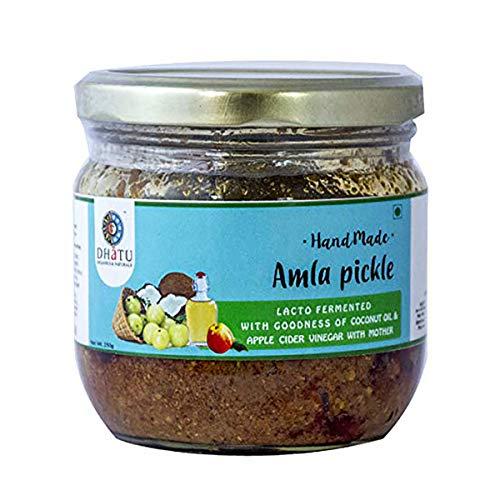 Dhatu Amla Pickle - avec l'huile de coco - 250g