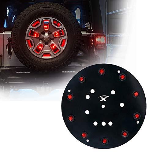 Xprite 12.5' Inch Spare Tire Brake Lights 3rd...