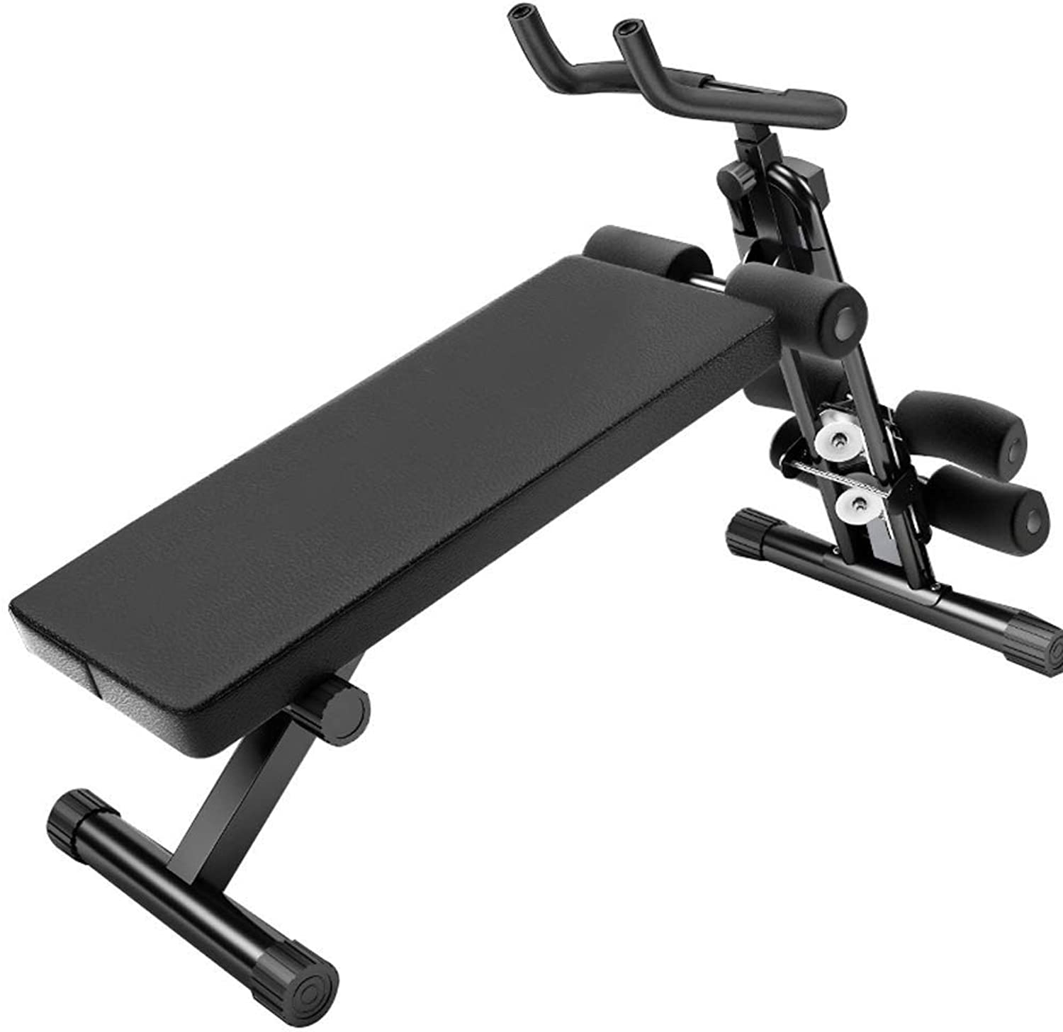 Breay1986 Adjustable Weight Bench, Home Training Gym situp Board Flat tilt Down MultiPurpose Exercise Bench