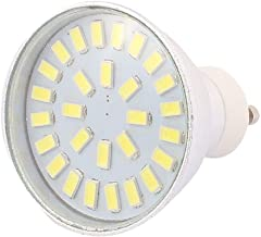 X-DREE 220V-240V GU10 LED Light 4W 5730 SMD 28 LEDs Spotlight Down Lamp Bulb Energy Saving Pure White(Lampadina 220V-240 ν...