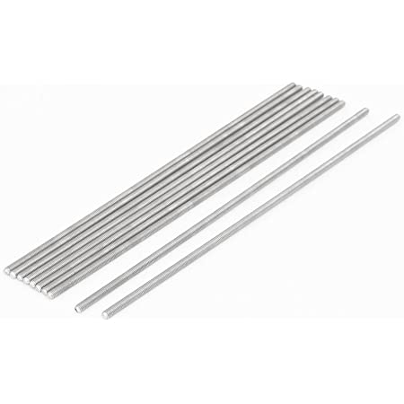 The Hillman Group 44815 4-40 x 6-Inch Threaded Rod 12-Pack