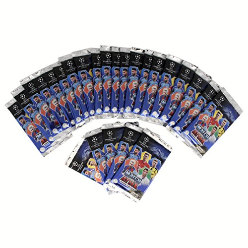 TOPPS Match Attax - Champions League Season 2016/17 Sticker Collection 25er Booster a 9 Karten = 225 Karten Trading Card Game