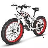 ZOSUO Herren E-Bike Elektrofahrrad Alu 26 Zoll Mit Shimano 7-Gang-Getriebe Pedelec Trekkingrad Mit...