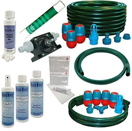 AQUA.REFIT Wasserbetten Service Set Befüllset Entleerungsset Dual Pflegeprodukte Pumpe