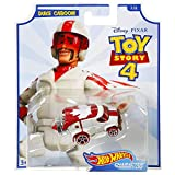 Hot Wheels Duke Caboom Toy Story 4 Character Car Diecast Car 1:64 Scale