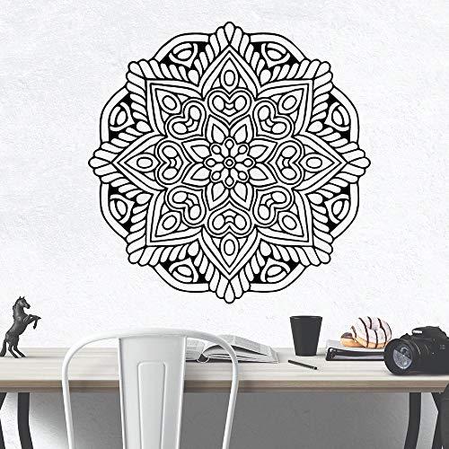Lustige Mandala muslimischen Islam Vinyl Tapete Rolle Möbel Dekoration Kinderzimmer natürliche Dekoration Wand Art Deco Aufkleber A4 57x57cm