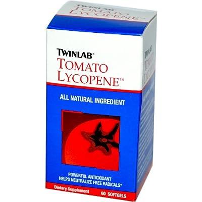 Twinlab Tomato Lycopene Softgels, 60-Count