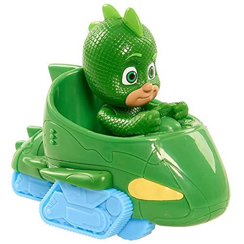 PJ MASKS–Mini Veicoli Gecomobile e Geco Mini Verde