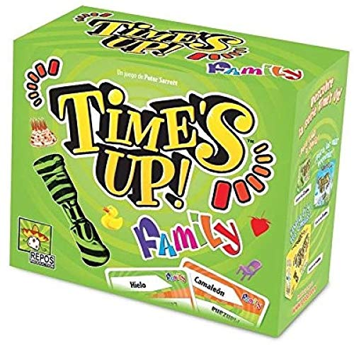 Repos Production- Times Up es el Juego de adivinar Personajes, Color (Asmodee ADE0TUF01ES)