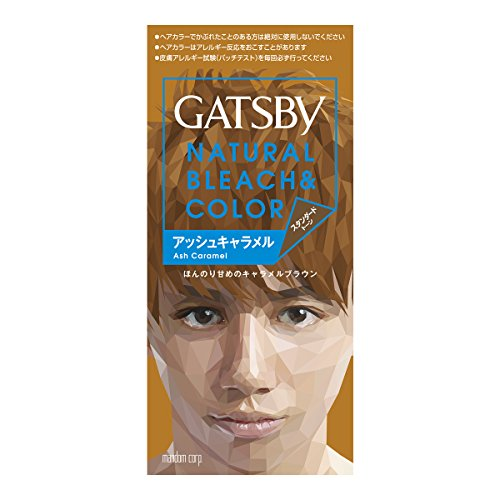 ギャツビー ナチュラルブリーチカラー アッシュキャラメル【HTRC5.1】