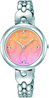 Alba Watch For Women - Casual Watch / Silver , Stainless Steel - Ah8341X1
