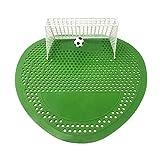 Uri-Fresh Urinal-Sieb und Geruchsentferner (12 Stück mit Handschuhen) Fußball Spielmatte von Uri-Fresh ... (Kirsche) mit Handschuhen
