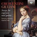 CRESCENTINI-GIULIANI: Songs for soprano and guitar