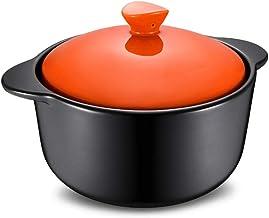 Clay Casserole Pot Terracotta Stew Pot Casserole Dishes New Pot Health Pot-blue_2.5L,YILONGHAOA