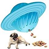 RUCACIO Zahnbürstenstift für Hunde, für Welpen, Zahnpflege, Bürstenstift für effektive Zahnreinigung, Massagegerät, ungiftiger Naturkautschuk, Beiß-resistent