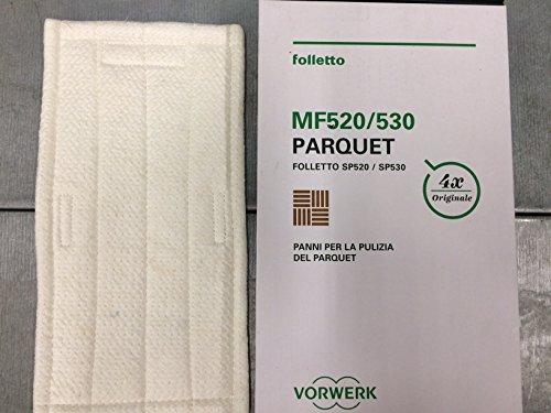 1Reinigungstuch Parquet MF520Original Vorwerk Kobold für Bodenwischer SP520SP530