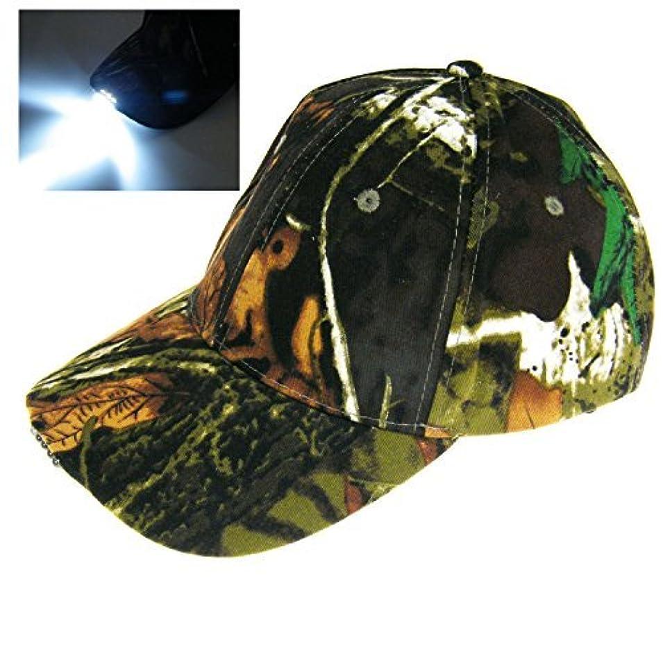 予算突き出すディスカウントTHKFISH フィッシングハット ビンテージ 迷彩 狩猟帽 釣り用キャップ ハイキングキャップ カモフラージュバケツ帽子 と?LED ライト