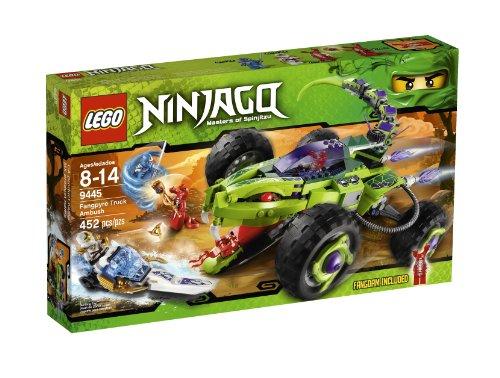 LEGO Ninjago Fangpyre Truck Ambush 9445