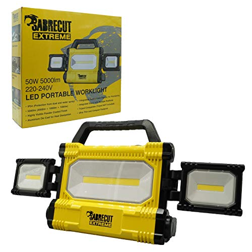 SabreCut SCLED707ACUK 50W 5000lm Professional LED Work Light IP54