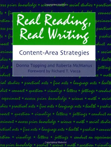 Real Reading, Real Writing: Content-Area Strategies
