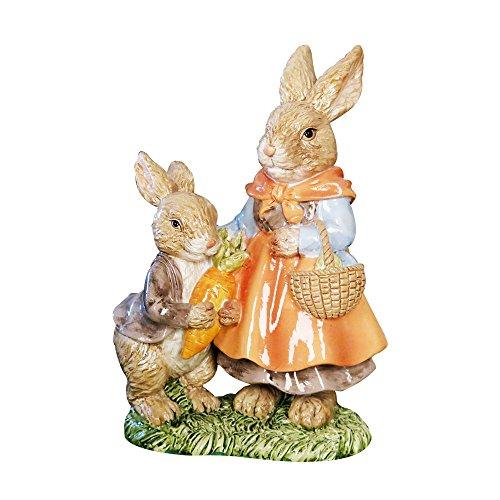 SMART Art Lapin de Pâques Résine Marron réaliste Lapin Jardin Paysage cour Bricoler Lapin figurine
