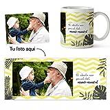 Fotoprix Taza Personalizada con Foto para Abuelo o Abuela   Regalo Original día del Abuelo   Varios diseños Disponibles (Abuelo)