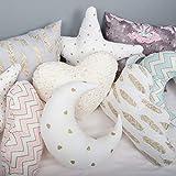 Set of 3 or 4 Kids shaped pillows, Moon Stars Cloud, cushion baby, pillows, cushion, pillow decor, baby pillow, nursery handmade star cloud drop