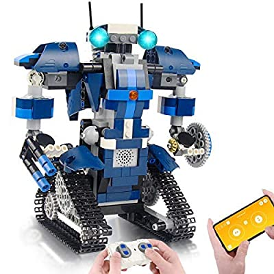 CIRO Robot Building Kits for Kids, STEM Remote Control Toys Educational Learning Science Building Gifts for Boys and Girls Ages 8 and up