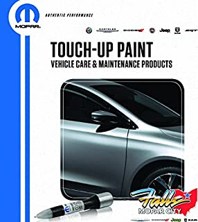 Mopar Chrysler Jeep Dodge Ram 4 in 1 Touch Up Paint Pen Brush Clear Coat Kit OEM (Vivid Blue PCL)