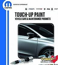 Mopar Chrysler Jeep Dodge Ram 4 in 1 Touch Up Paint Pen Brush Clear Coat Kit OEM (True Blue PBU)