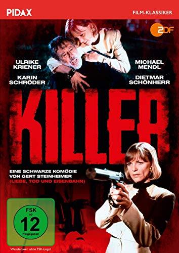 Killer / Schwarze Komödie mit Starbesetzung (Pidax Film-Klassiker)