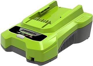 Greenworks Akku Ladegerät G40C 2.Generation (Li Ion 40 V 2A 60 min Ladezeit bei 2Ah passend für alle Akkus der 40 V Greenworks Tools Serie)