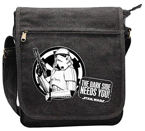 ABYstyle - STAR WARS - Messenger Bag – Troopers – kleine Tasche (23x27x8 cm )