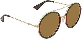 5a5ae57c05 Gucci GG0061S 012 Gafas de sol, Dorado (12/Gold), 56 para