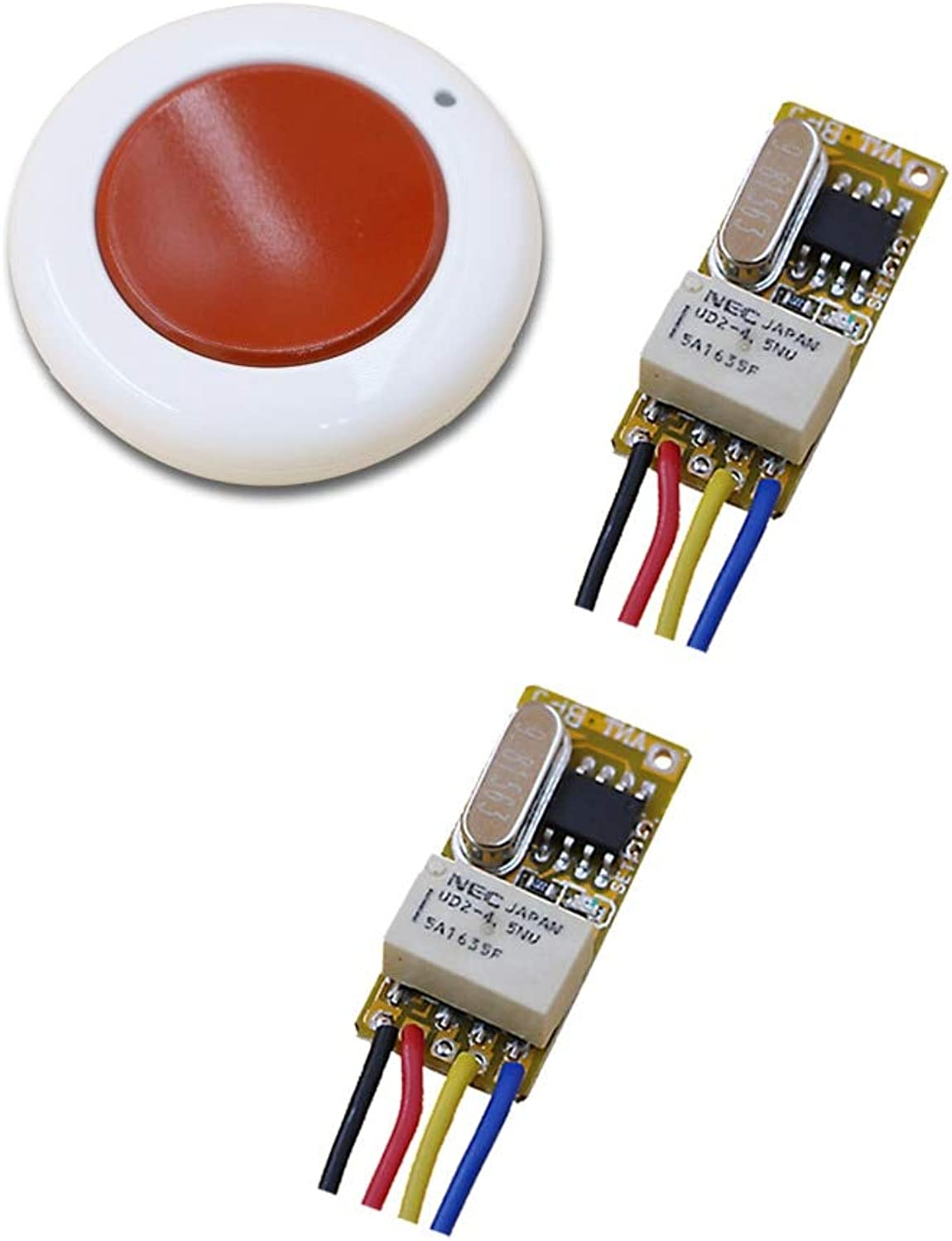 Mini Relay Switch DC 3.7V 4.2V 4.5V 5V 6V 7.4V 9V 12V Contact NO COM NC Remote Wireless Switch Normall Closed Open 315 433MHZ  (color  315MHZ)
