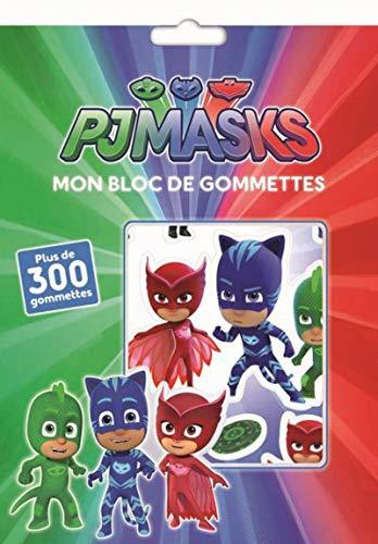 Pjamasks - Mon bloc de gommettes