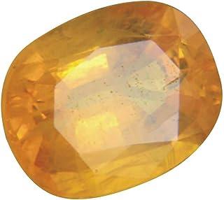 Tejvij And Sons Pukhraj Original Certified Yellow Sapphire Gemstone
