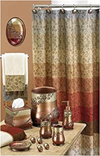 Popular Home Collections Miramar Shower Curtain