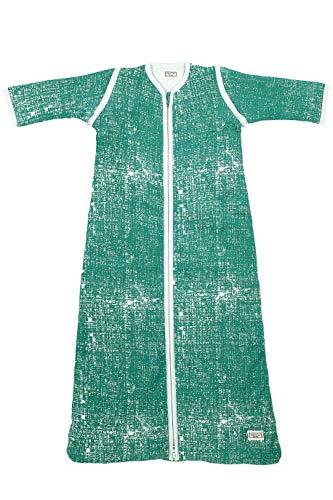 Meyco 515032 Slaapzak fine lines, 110 cm, emerald green