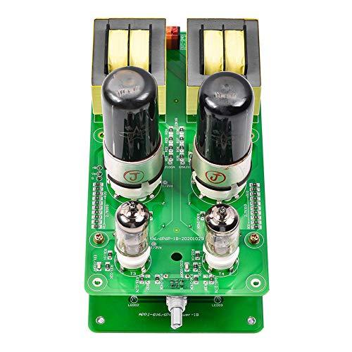 RSGK Scheda Amplificatore Valvolare, Componenti Kit Fai da Te Kit Amplificatore Valvolare J1 + 6P6P (6V6) Single-Ended, Nessuna Saldatura Richiesta
