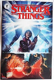 NYCC 2018 STRANGER THINGS Poster Signed by JODY HOUSER and Keith Champagne