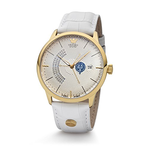 Kronsegler dames automatisch horloge Oxford Masters goud-zilver