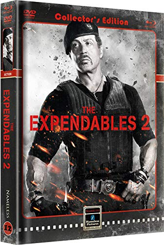 The Expendables 2 - Mediabook - Cover B - Retro - Limited...