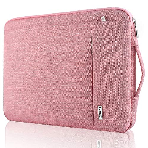 Landici 360 Protective Laptop Case Sleeve 14 15 15.6 Inch, Slim Computer Bag Cover Compatible with MacBook Pro 16, Surface Book 3 15, Chromebook 14, Acer Aspire 5, HP Pavilion,Lenovo Yoga-Pink