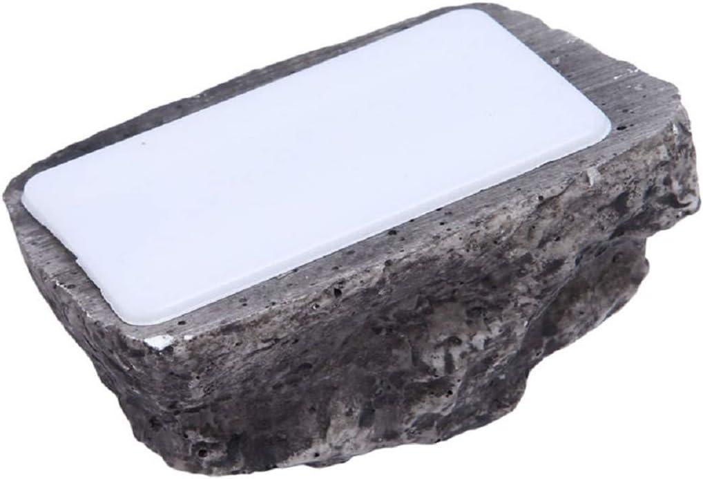 Botreelife Cheap bargain Creative Key Case Rock Box Great interest Spare Storage R Fake Stone