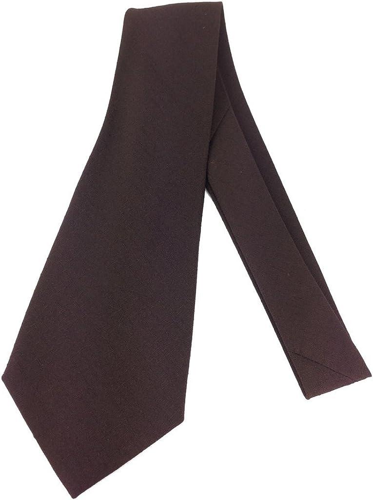Textrured Vintage Neck Tie - Jacquard Weave Wide Kipper