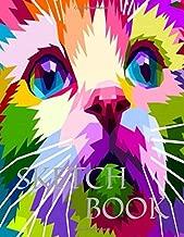 Sketch Book: Close Up Cat 8.5